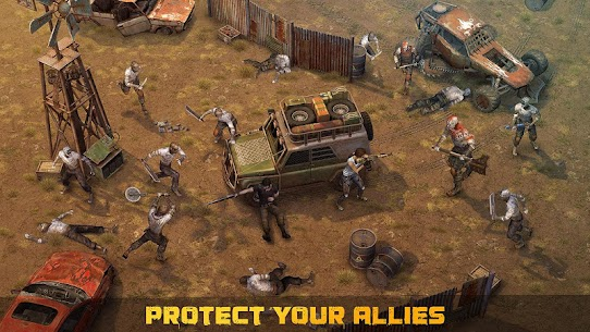 Dawn of Zombies Survival Apk Mod Free Craft + God Mod 4