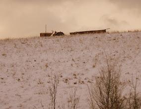 Photo: Wioska przypomina jakby Beskid Niski i Góry Kaczawskie. Ulokowana gdzieś na uboczu, wyciszona, prawie wymarła...