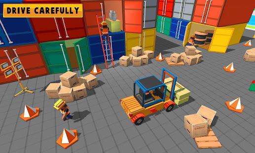 forklift simulator game