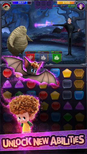 Hotel Transylvania: Monsters! - Puzzle Action Game 1.3.1 Screenshots 3