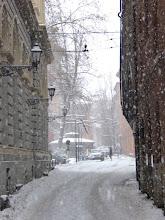 Photo: 1 marzo 2018, nevica in via de' Toschi