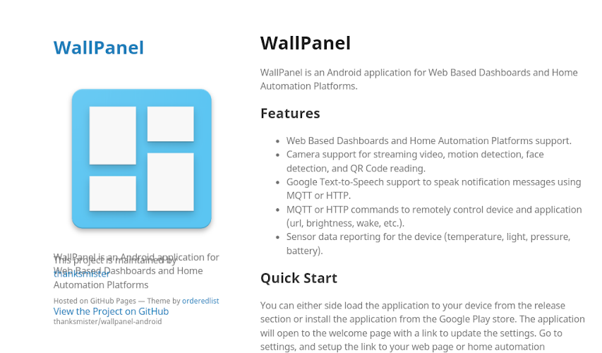 Download WallPanel APK latest version app by ThanksMister LLC for