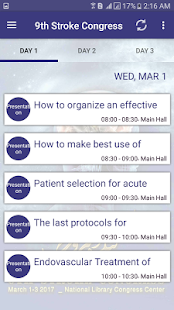 9th Stroke Congress- screenshot thumbnail