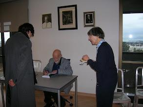 Photo: (Left to Right) Yun Song, Erich Lehmann, Julie Shaffer
