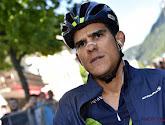 Andrey Amador op training in Barcelona aangereden door een auto
