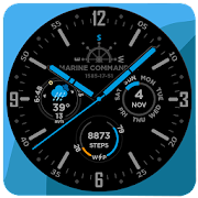 Marine Commander Watch Face for WearOS