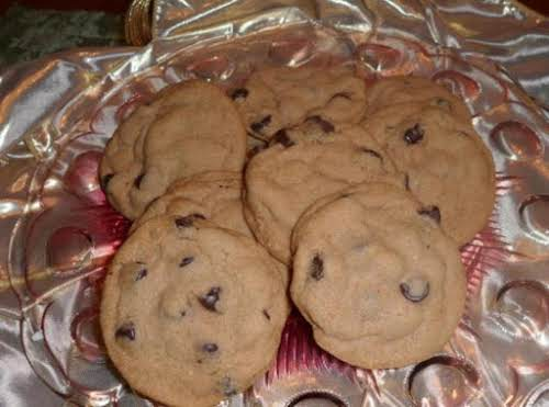 "Nutty Chocolate Chip Malt Cookies ""Did I die and go to heaven..."