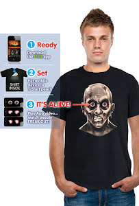 Digital Budz t-shirt, zombie