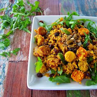 Cauliflower Rice Biryani.