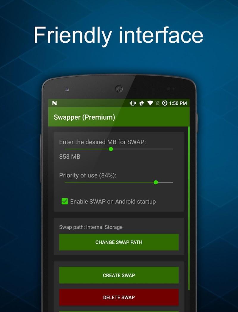 Swapper - Create SWAP Memory Screenshot