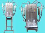 Pragati Pharma Equipment   2 Head Semi Automatic Liquid Filling Machine (Table Top Model)