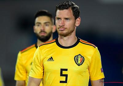Jan Vertonghen mist de EK-kwalificatiewedstrijden tegen Rusland en Cyprus met de Rode Duivels