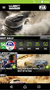 WRC – The Official App - náhled
