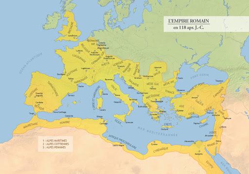 empire romain en 118