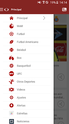 Televisa Deportes screenshot