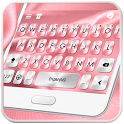 Pink Silk Keyboard Theme icon