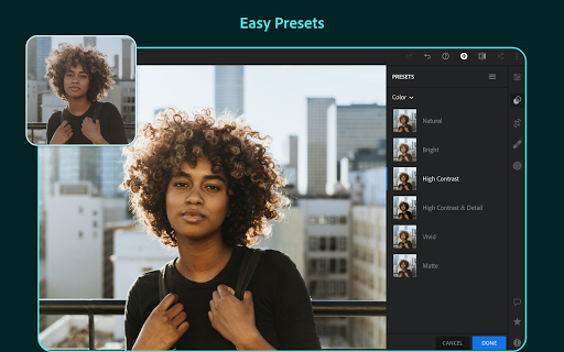 Adobe Lightroom - Photo Editor & Pro Camera  screenshots 10