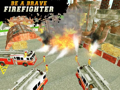 FireFighter City Rescue Hero- screenshot thumbnail
