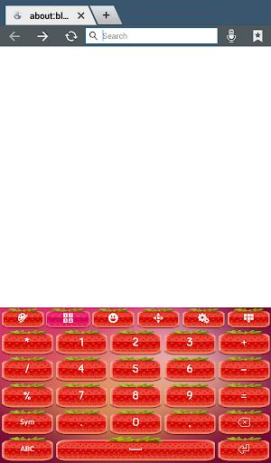 玩個人化App|草莓键盘主题免費|APP試玩