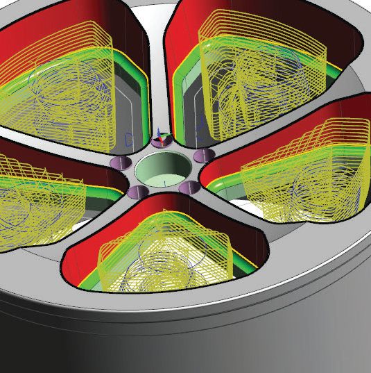 SURFCAM Part Modeler позволяет создавать макросы, назначаемые одновременно на несколько деталей сборки