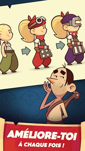 Code Triche Almost a Hero - Idle RPG Clicker APK MOD screenshots 5