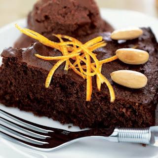 Flourless Chocolate-Orange Almond Cake