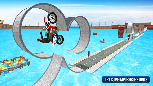 Moto Bike Stunt Racing Game 2019 1.0.3 screenshots 2