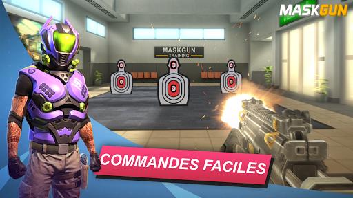 MaskGun Multiplayer FPS - Jeu de tir gratuit astuce APK MOD capture d'écran 1