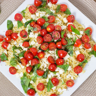 Tomato And Orzo Salad