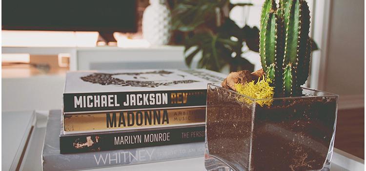 Cactus Books Coffee Table