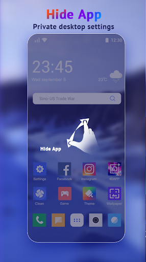 U Launcher Lite-New 3D Launcher 2020, Hide apps screenshot 5