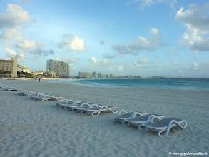 Photo: #007-La plage du Club Med Cancún Yucatán.