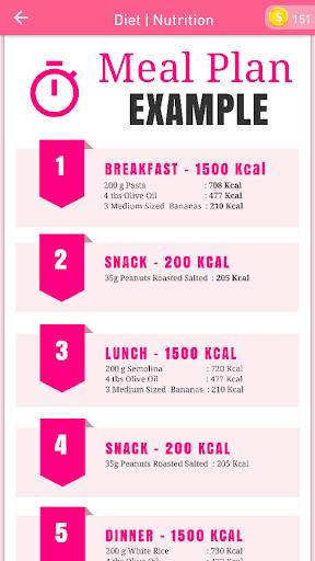 7 Days Plan: How To Gain Weight Fast Tips 16.0 screenshots 2