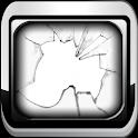 Broken my screen prank icon