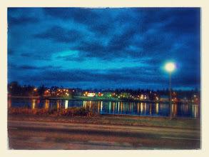 Photo: Paysage de nuit
