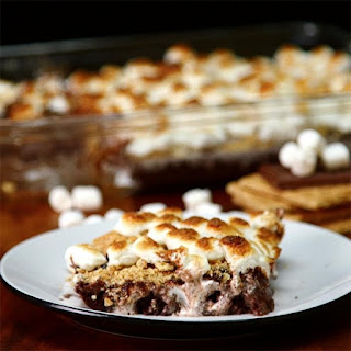 S'mores Poke Brownies Are The Next Best Thing To Enjoying S'mores By The Campfire.