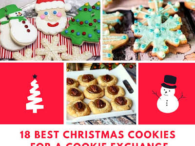 18 Best Christmas Cookies for a Cookie Exchange
