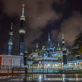 crystal mosque by Rusydi Ali - Buildings & Architecture Places of Worship