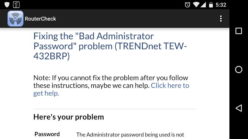 RouterCheck Screenshot 3