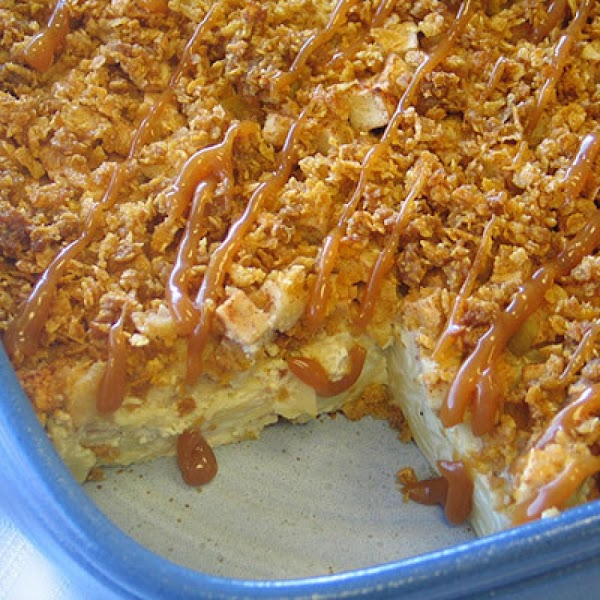 Caramel Apple Noodle Kugel Recipe