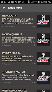 hardDrive Radio- screenshot thumbnail