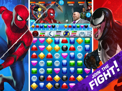 Game MARVEL Puzzle Quest: Join the Super Hero Battle! APK for Windows Phone