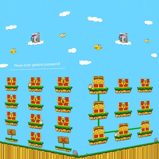 AppLock Theme PixelGame