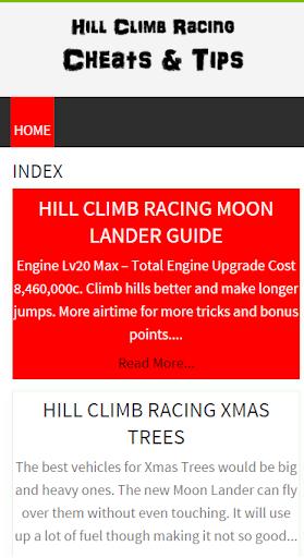Fan Hill Climb Racing Guide