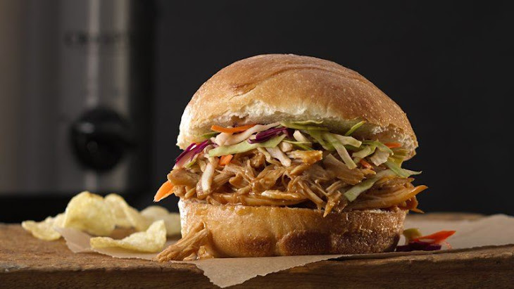 Slow Cooker Hoisin Chicken And Slaw Sandwiches Recipes — Dishmaps