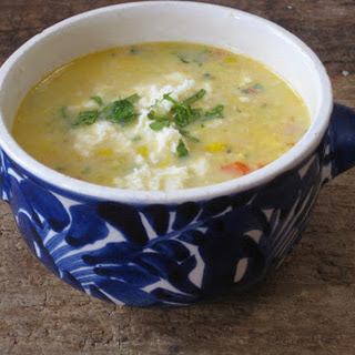 Corn Chowder with Amaranth and Quinoa