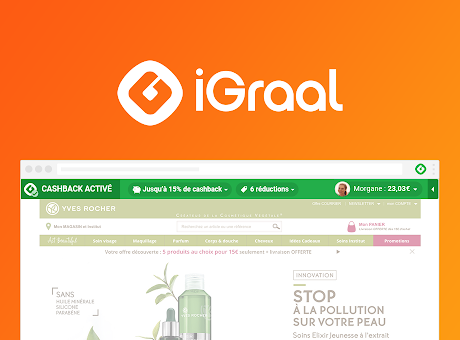 IGRAAL : Cashback & codes promo