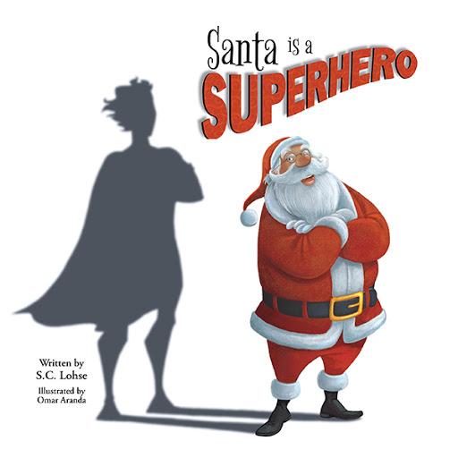 Santa is a Superhero cover