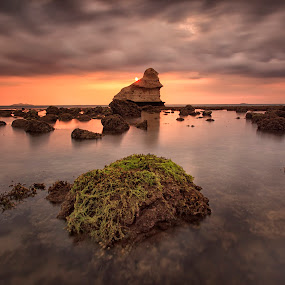 Is Trouble Brewing by Hiram Abanil - Landscapes Sunsets & Sunrises ( nasugbu, payong )