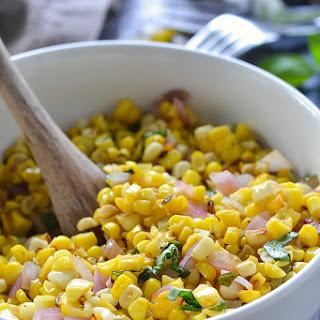 Roasted Corn Salad Recipe